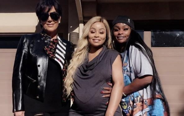 Here Tokyo Toni is pictured with her daughter and Kris Jenner. Source: Instagram