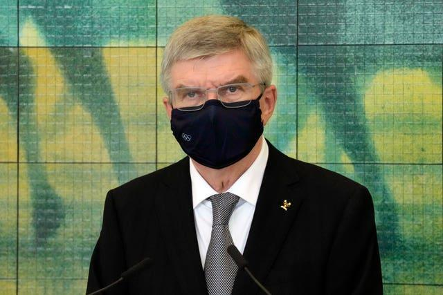 IOC president Thomas Bach said the infection rate among international arrivals for the Games was
