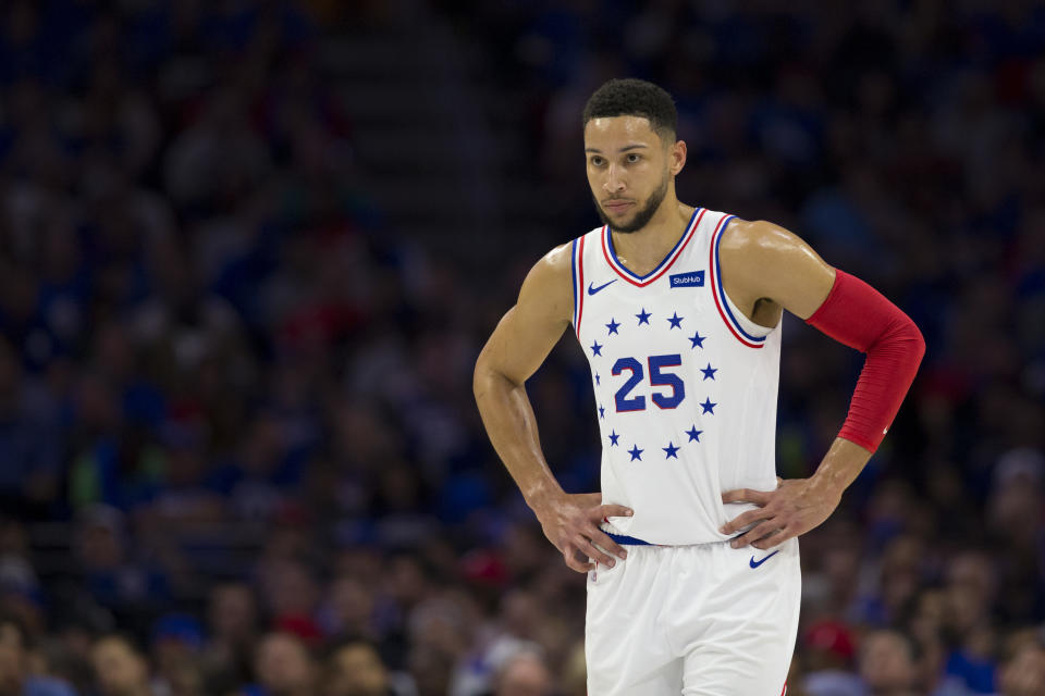 Ben Simmons said he and his black friends were denied entry at an Australian casino when a white friend was not. (Getty)