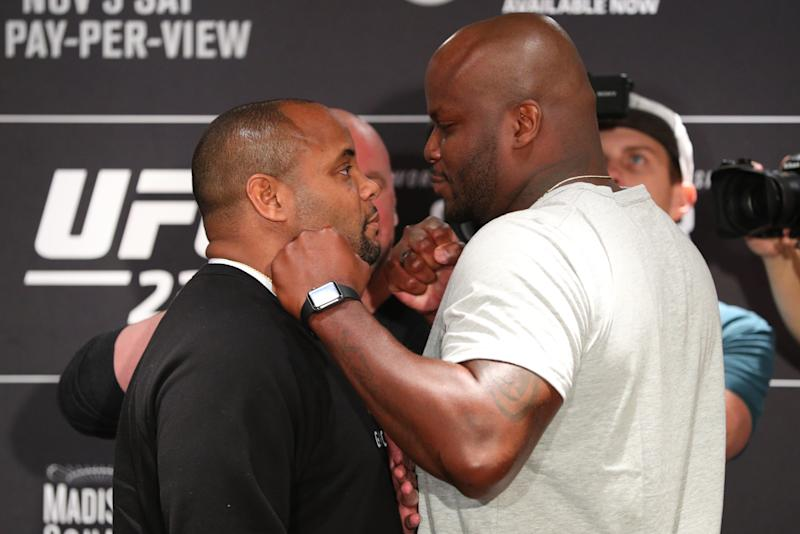Daniel Cormier makes UFC history with victory over Derrick Lewis