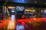 <p>VIP is a premium offering at Cineworld, where audiences can experience the next level in cinema comfort including a private lounge, complimentary dining, Unlimited cinema snacks and luxury reclining seats. (Cineworld) </p>