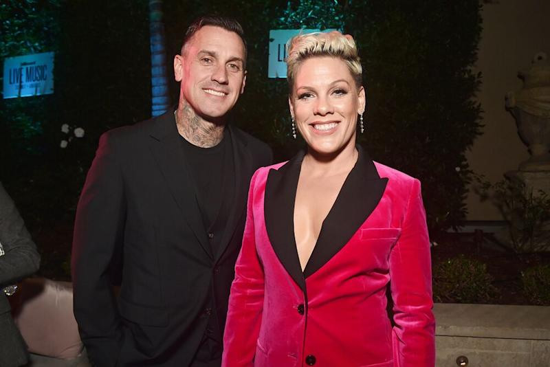Carey Hart and Pink | Alberto E. Rodriguez/Getty