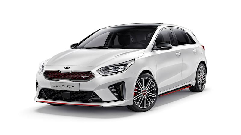 Kia Ceed Engine >> 2019 Kia Ceed GT revealed with aggressive styling, punchy engine