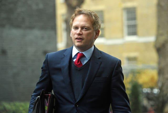 Transport Grant Shapps is set to conduct broadcast interviews on Wednesday