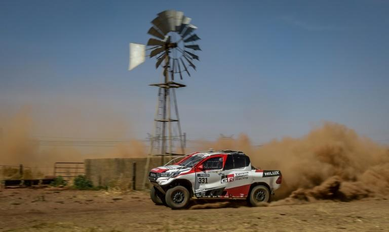 Spanish driver Fernando Alonso warmed up for the Dakar Rally by taking part in the Lichtenburg 400 in South Africa in September