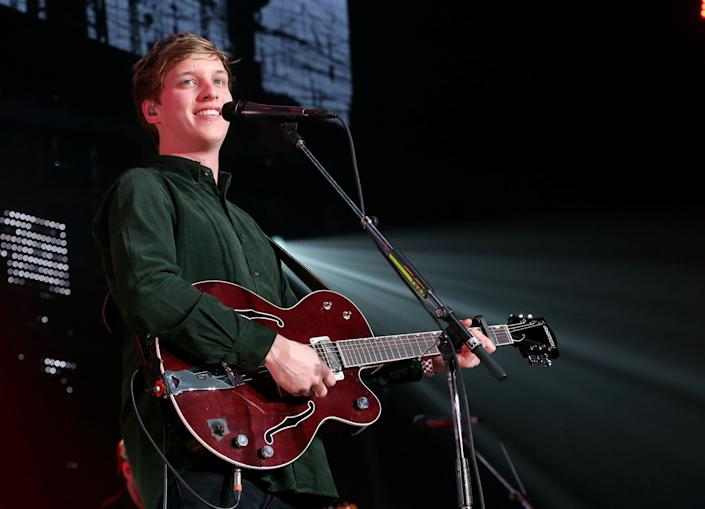 Singer George Ezra has reportedly recorded music on the island [Photo: Getty]