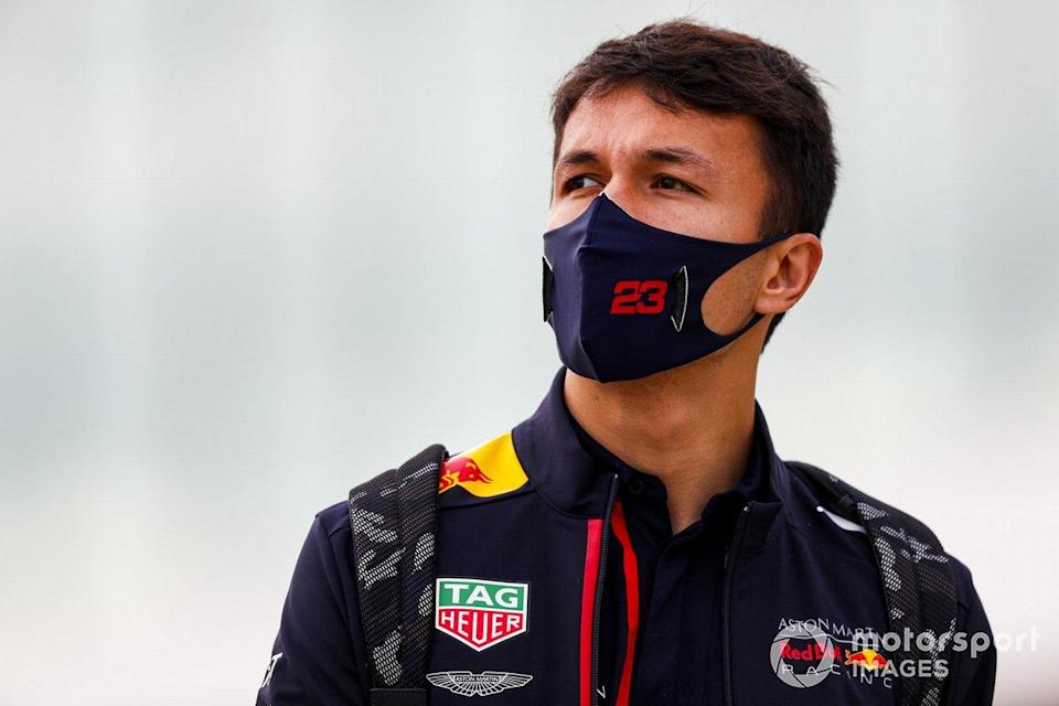 "Alex Albon, Red Bull Racing <span class=""copyright"">Sam Bloxham / Motorsport Images</span>"