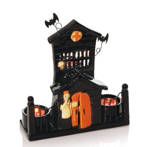 <p>Display this <span>Boney Hospital Tea Light Candle Holder</span> ($42) on the mantle, dining room table, or even beside your bed.</p>
