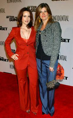 Premiere: Carla Gugino and Connie Britton at the Hollywood premiere of New Line Cinema's After the Sunset - 11/4/2004