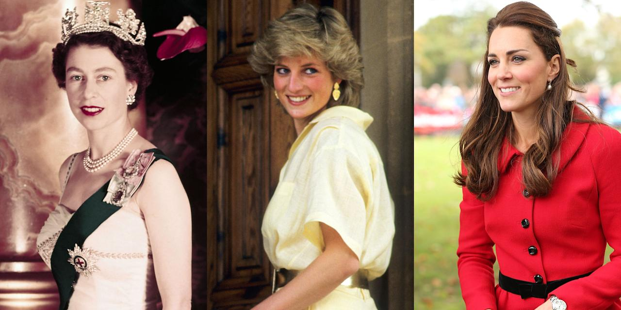 <p>Ahead, see how royal hairstyles have evolved over the years—from loose curls in the 1920s to Kate Middleton's iconic blowout. </p>