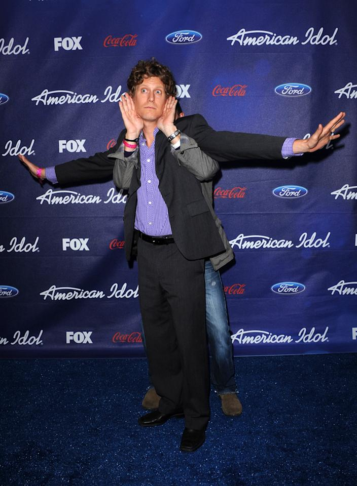 """Eric Sheffer Stevens of """"<a href=""""http://tv.yahoo.com/i-hate-my-teenage-daughter/show/47413"""">I Hate My Teenage Daughter</a>"""" attends the Season 11 """"<a href=""""http://tv.yahoo.com/american-idol/show/34934"""">American Idol</a>"""" Top 13 Finalists Party on Thursday, March 1 at The Grove in Los Angeles, CA."""