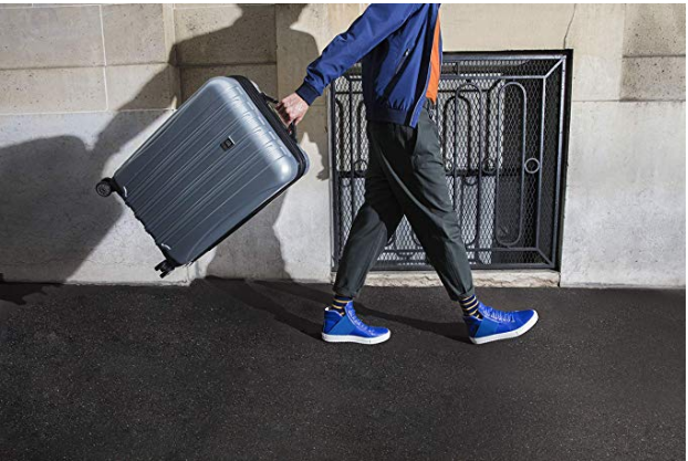 Save up to 40 percent on Delsey Hardside Spinner Luggage. (Photo: Amazon)