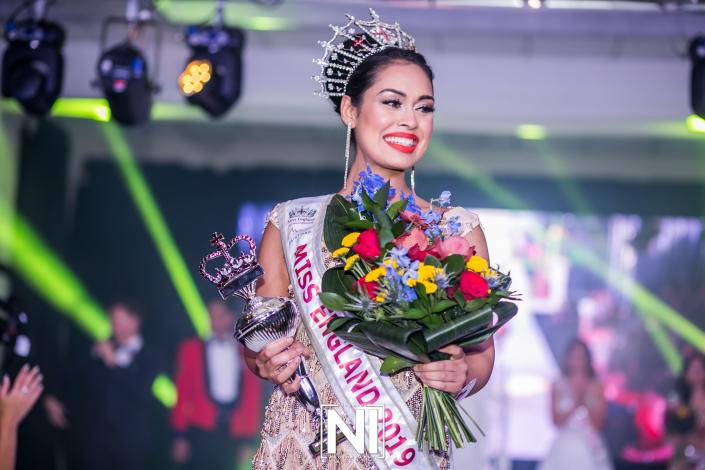 Bhasha Mukherjee won the prestigious Miss England title earlier this month. [Photo courtesy of www.missengland.info] Make up artist: Joggy Khan @MakeupStorePro