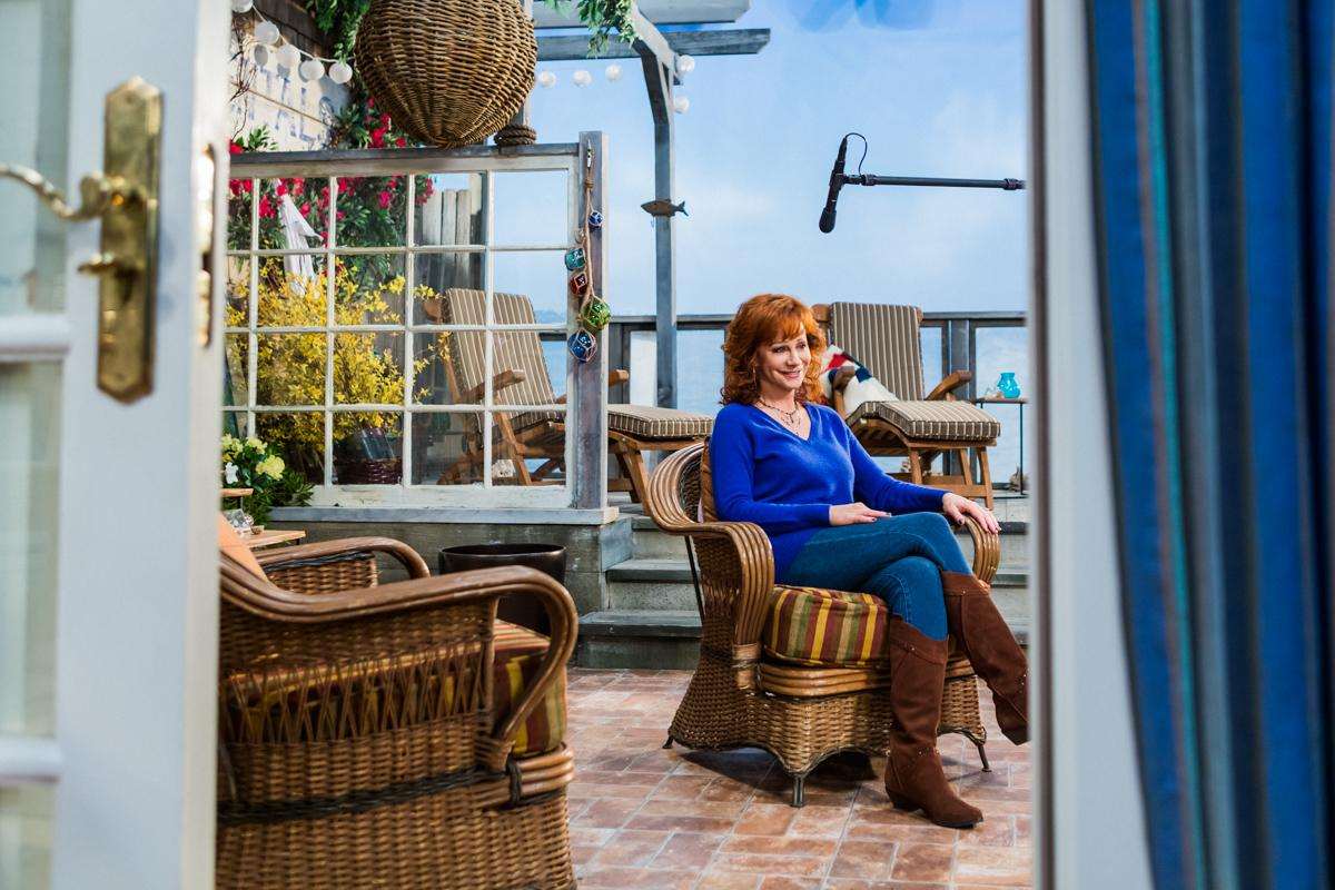 Reba McEntire ABC Studios, on the set of Malibu Country Studio City, CA