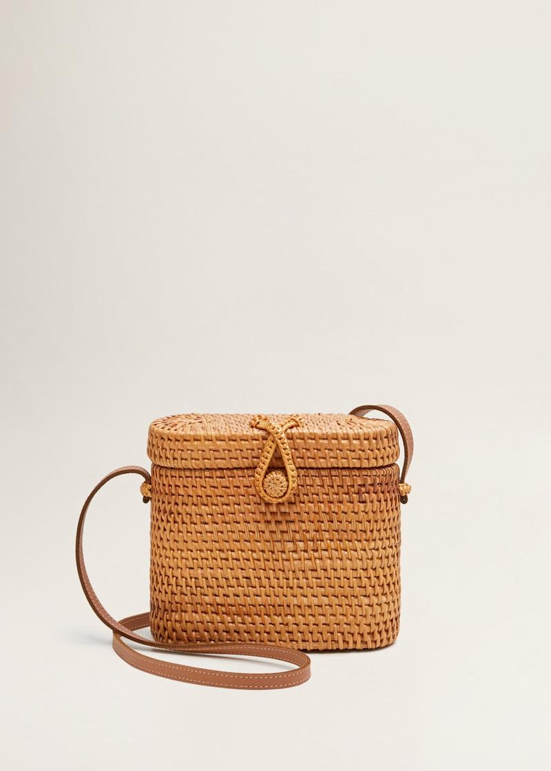 Bamboo coffer bag.