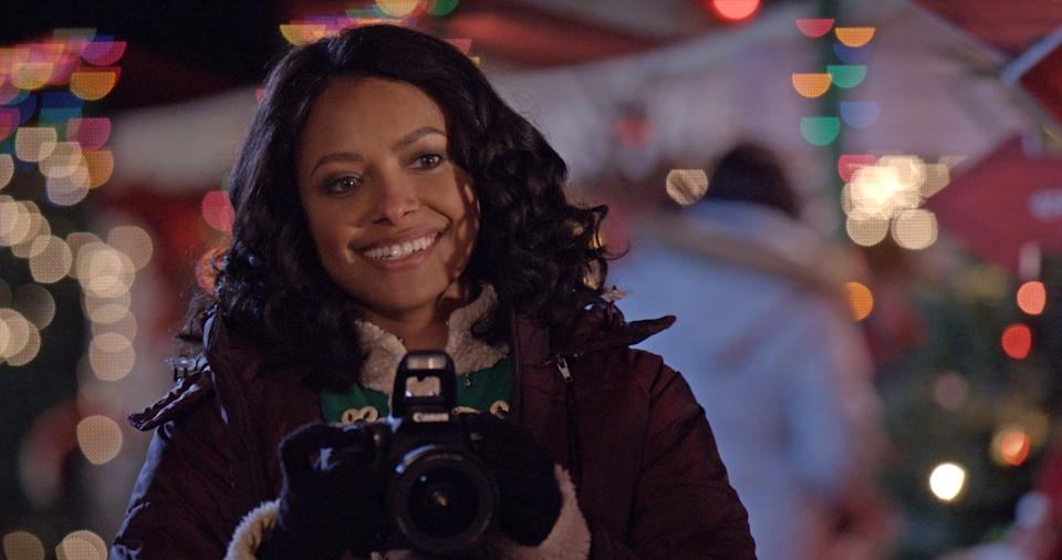 """<p>This romantic comedy follows a photographer (Kat Graham) who is gifted with an antique holiday Advent calendar that seems to predict her future. </p> <p>Watch <a href=""""https://www.netflix.com/title/80242446"""" class=""""link rapid-noclick-resp"""" rel=""""nofollow noopener"""" target=""""_blank"""" data-ylk=""""slk:The Holiday Calendar""""><strong>The Holiday Calendar</strong> </a> on Netflix now.</p>"""