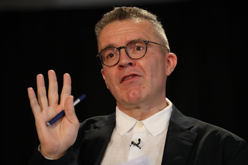 Labour party deputy leader Tom Watson gives a speech on the creative industries and Brexit to the Creative Industries Federation at Somerset House in London.