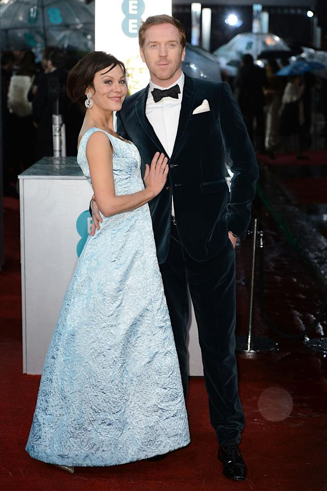 amian Lewis (R) and Helen McCrory attend the EE British Academy Film Awards at The Royal Opera House on February 10, 2013 in London, England.  (Photo by Ian Gavan/Getty Images)