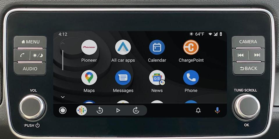 Android For Cars apps