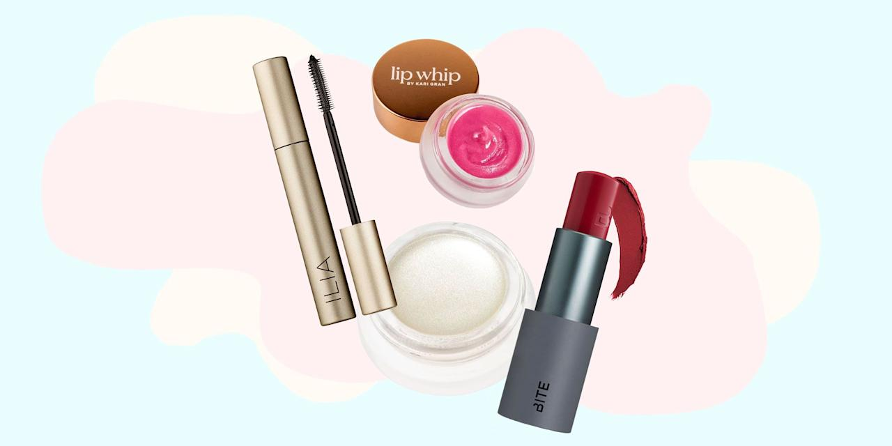 """<p>For the most part, there are two types of  <a href=""""https://www.cosmopolitan.com/style-beauty/beauty/a27288703/cosmo-makeup-awards-2019/"""" target=""""_blank"""">makeup</a> buyers in the world: those who buy anything that looks pretty or smells good, no matter what's in the formula, and those who buy products based solely on their ingredients, opting for natural and organic makeup as a result. But what happens if you fall somewhere in the middle, like I do? </p><p>I mean, I obsessively research the ingredients in the products I use (IMO, green = good), but I also want my products to work really, really well. And annoyingly, those two things aren't always mutually exclusive. Which is why I've done a ton of searching and testing to come up with my ultimate guide of the 12 best organic makeup brands of all time. Each one uses good-for-you ingredients from sustainable sources yet still has a killer formula that doesn't sacrifice on performance. </p><p>Ready to make the switch (or just find a new favorite)? Check out the 12 best organic makeup products, below.</p>"""