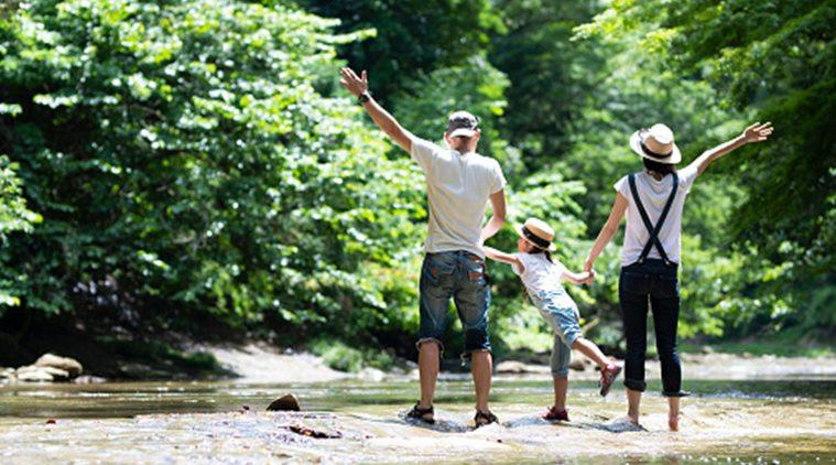 vacation, travel with kids, child learning