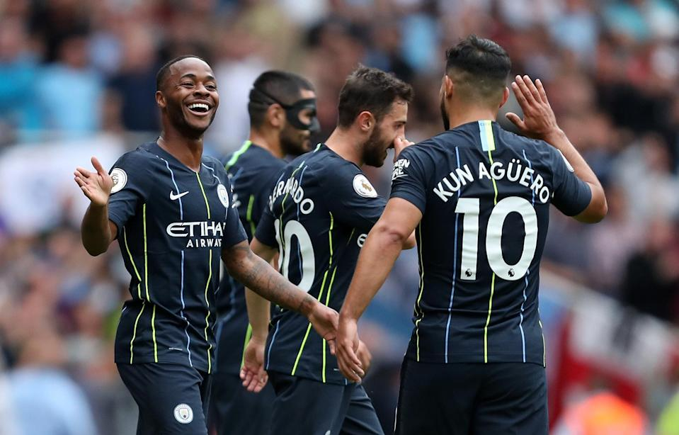City's players showed no sign of complacency during their opening day victory over Arsenal