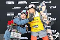 <p>Kim won an X Games medal when she was just 13 years old, taking silver in the halfpipe. </p>