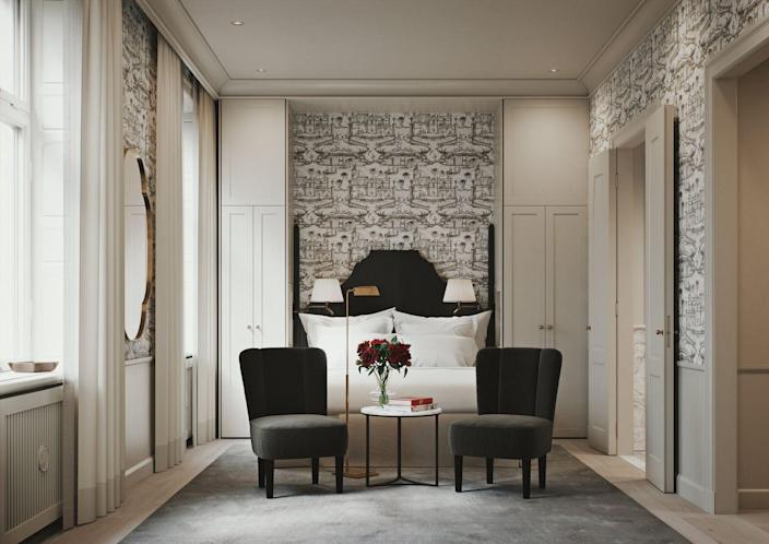 <p>Name after the owner's trailblazing female ancestor, this historic Art Nouveau building will house 70 guest rooms and suites, spa, fine dining, cocktail bar, and flower shop in the Östermalmstorg neighborhood. A member of Preferred Hotels & Resorts, Villa Dagmar is sure to be Stockholm's next great luxury destination.</p><p><em>Villa Dagmar opened in May 2021. Nightly rates start at $380 per night.</em></p>