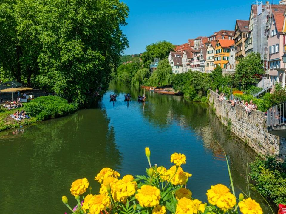 View over Neckar River (Getty Images/iStockphoto)