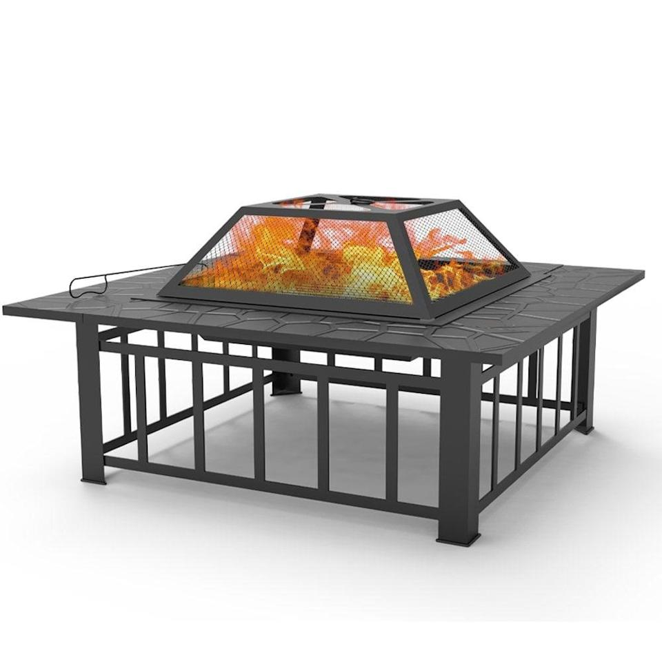 <p>Warm up on winter nights next to this <span>Fire Bowl Outdoor BBQ Burning Grill</span> ($97, originally $160).</p>