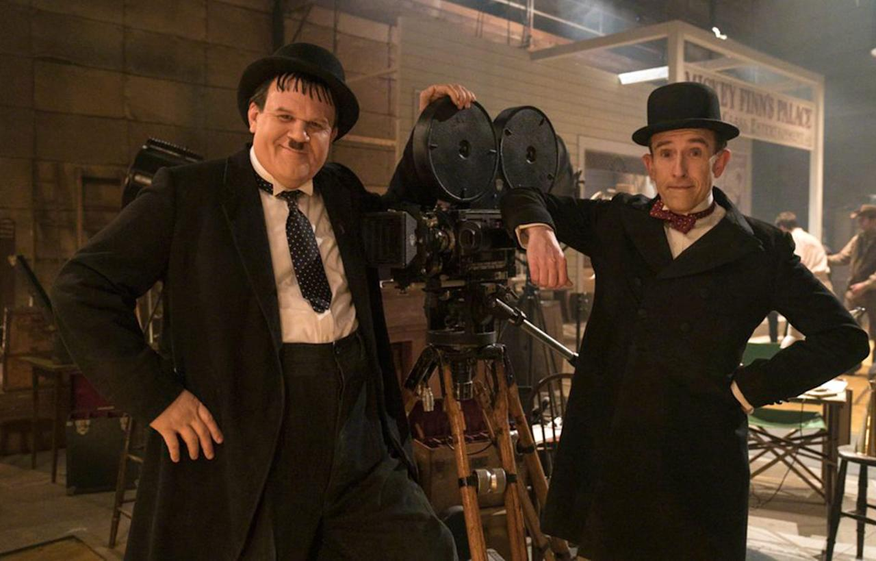<p>Starring Steve Coogan and John C. Riley, <em>Stan and Ollie</em> follows the legendary comedy double act of Laurel and Hardy in the later stages of their career. With the golden era of their Hollywood films now a thing of the past, the pair go on tour reconnect with their fans, but their partnership is threatened by old tensions and Ollie's deteriorating health. </p>