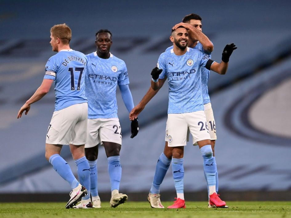 <p>Riyad Mahrez scored a hat-trick last weekend</p>Getty Images