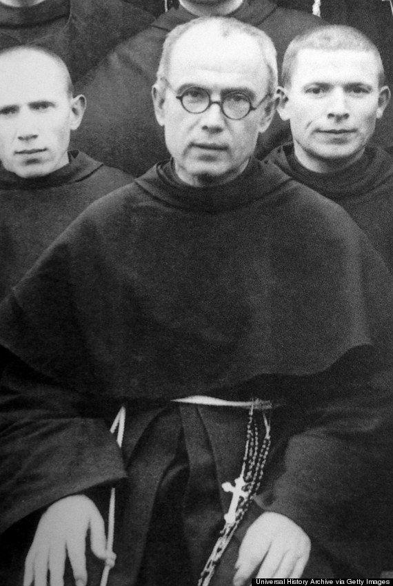 <strong>Polish priest Maximilian Kolbe in 1939, two years before he was sent to Auschwitz</strong> (Photo: UIG via Getty Images)