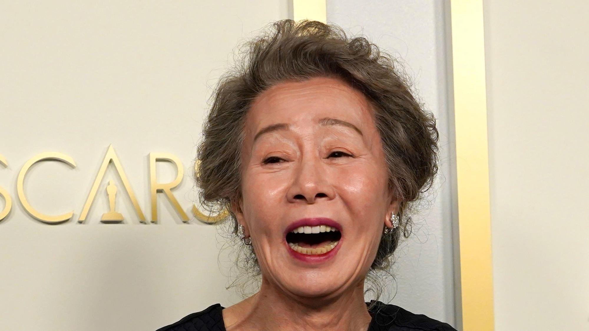 Minari star Yuh-Jung Youn makes history at the Oscars