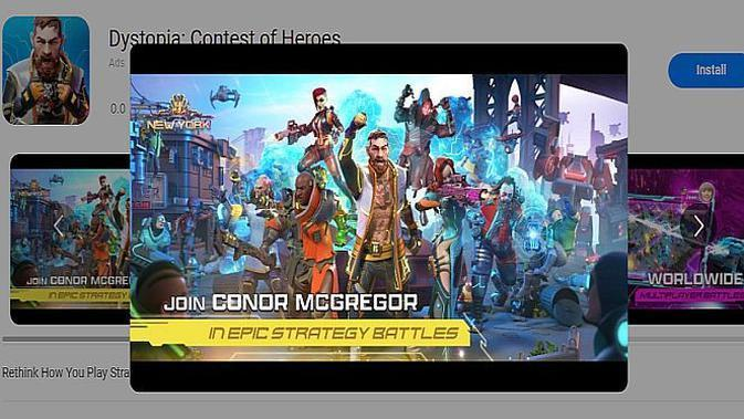 Dystopia: Contest of Heroes (screenshot via Huawei AppGallery)