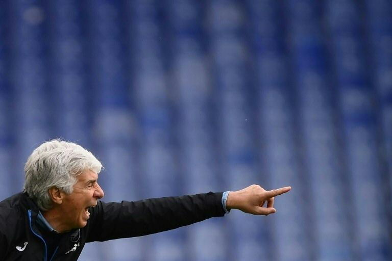 Gian Piero Gasperini's Atalant are looking a first trophy since the 1963 Coppa Italia.
