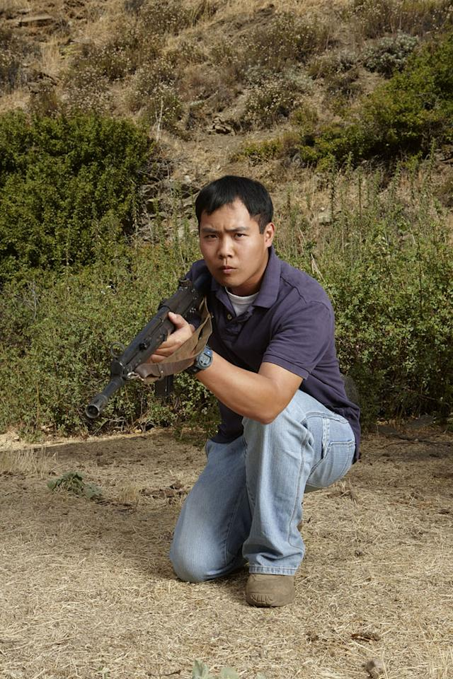 """Chee Kwan competes in Season 4 of """"Top Shot."""""""