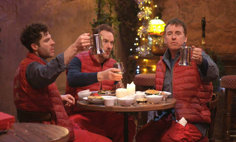 I'm A Celebrity went to the pub Photo by ITV/Shutterstock (11088436i)