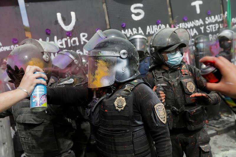 International Women's Day in Mexico City