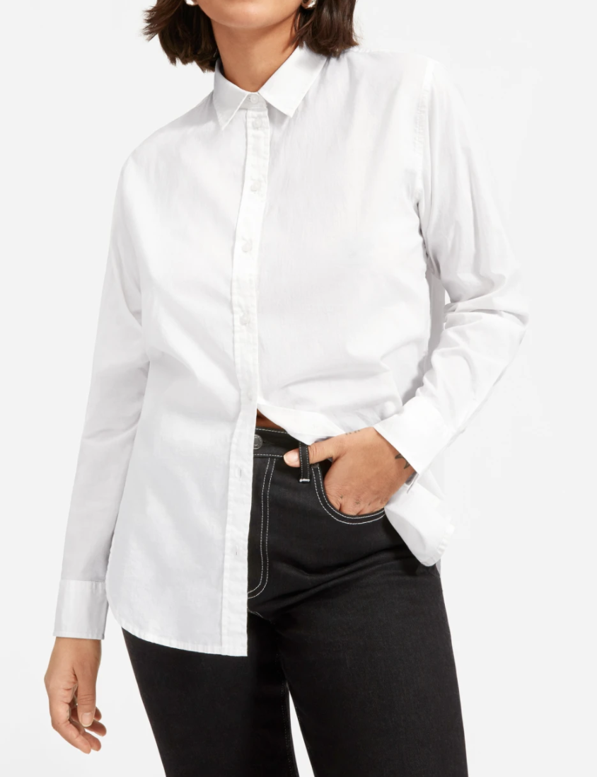 Everlane Women's Relaxed Air Shirt