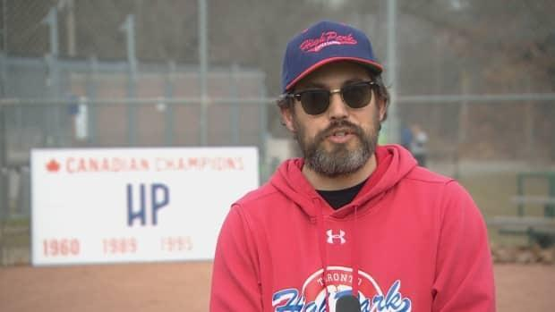 Peter Paz, a board member with High Park Little League in Toronto, says his family was upset about not being able to play organized baseball due to pandemic restrictions.