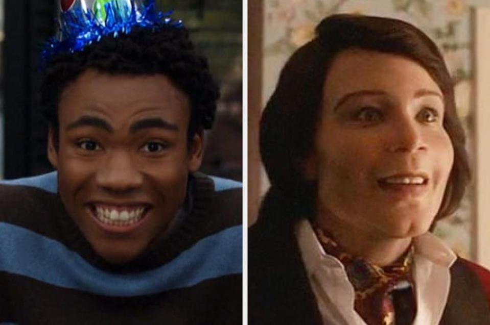 Both played by: Donald Glover