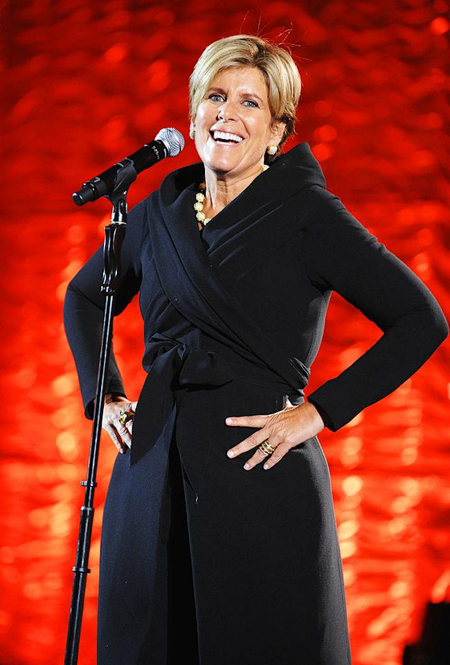 "Earlier this year, the Gay & Lesbian Alliance Against Defamation (GLAAD) presented financial guru Suze Orman with the prestigious Vito Russo Media Award. Jamie McCarthy/<a href=""http://www.wireimage.com"" target=""new"">WireImage.com</a> - March 28, 2009"