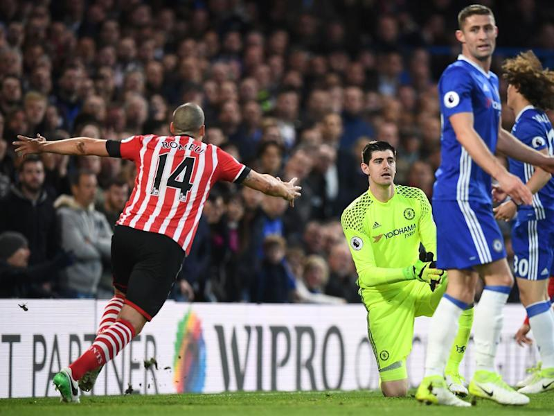 Romeu tapped home from close range to level (Getty)