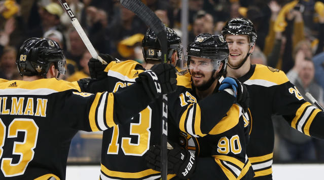 The Bruins are on to round two as they'll take on the Blue Jackets after defeating the Maple Leafs in Game 7.