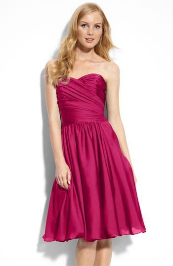 "<div class=""caption-credit""> Photo by: Nordstrom</div><div class=""caption-title""></div>Dress your 'maids in the color of the moment and let them stand out too. <br> <a rel=""nofollow"" href=""http://lover.ly/explore/dresses?q=bridesmaid&utm_source=shine09-22-2013fuchsia&utm_medium=guest&utm_campaign=shine09-22-2013fuchsia"" target="""">Find more bridesmaids dresses</a> <br> ML Monique Lhuillier Bridesmaids Strapless Dress Nordstrom Exclusive From <a rel=""nofollow"" target=""_blank"" href=""http://r.lover.ly/redir.php/o6JHVHAPQB6_aHR0cDovL3Nob3Aubm9yZHN0cm9tLmNvbS9jL2JyaWRlc21haWQtZHJlc3Nlcy1zdHJhcGxlc3M/b3JpZ2luPWxlZnRuYXY="">Nordstrom</a> via <a rel=""nofollow"" href=""http://lover.ly/image/138162"" target=""_blank"">Lover.ly</a> <br>"