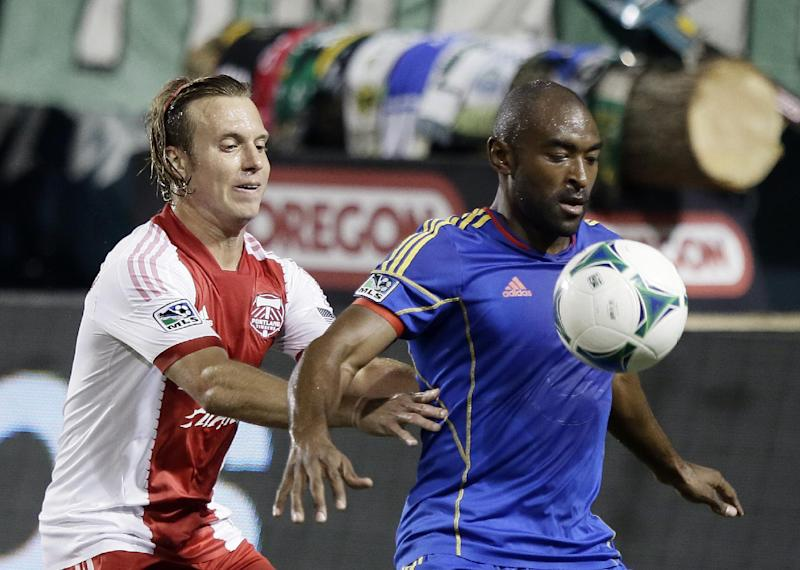 Valeri scores in 13th to lift Timbers past Rapids