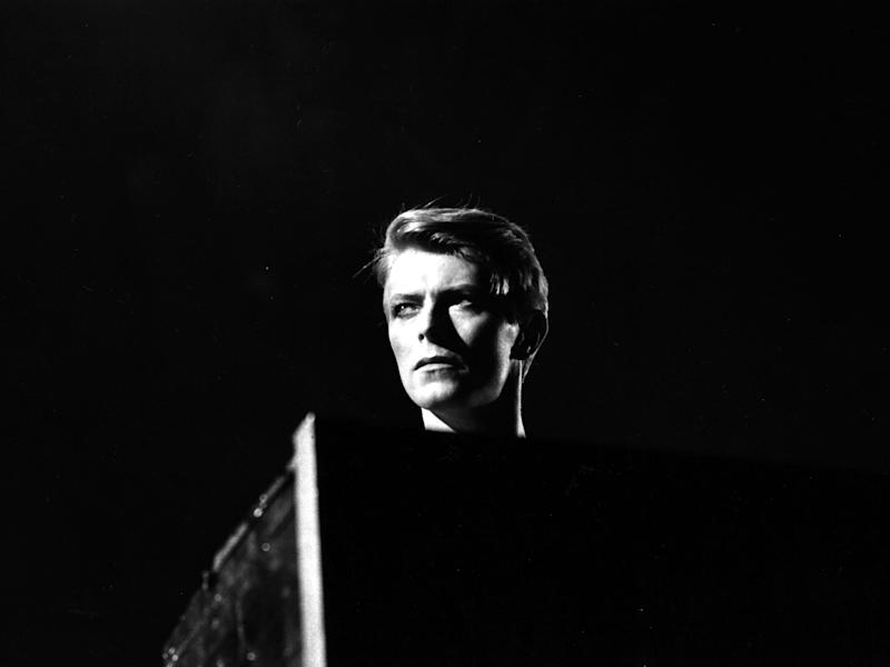 David Bowie in concert at Earl's Court, London during his 1978 world tour: AFP/Getty