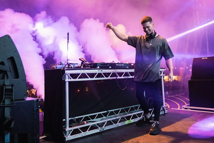 Joel Corry performs at Virgin Money Unity Arena on September 16, 2020Getty Images