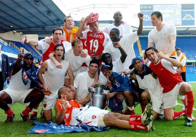 Arsenal's 'Invincibles' were unbeaten when they won the 2003/4 Premier League title